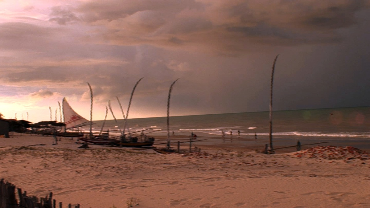 Der Strand von Prainha do Canto Verde